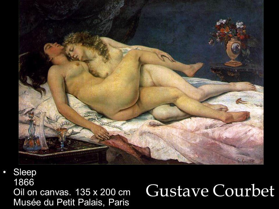 Sleep 1866 Oil on canvas. 135 x 200 cm Musée du Petit Palais, Paris