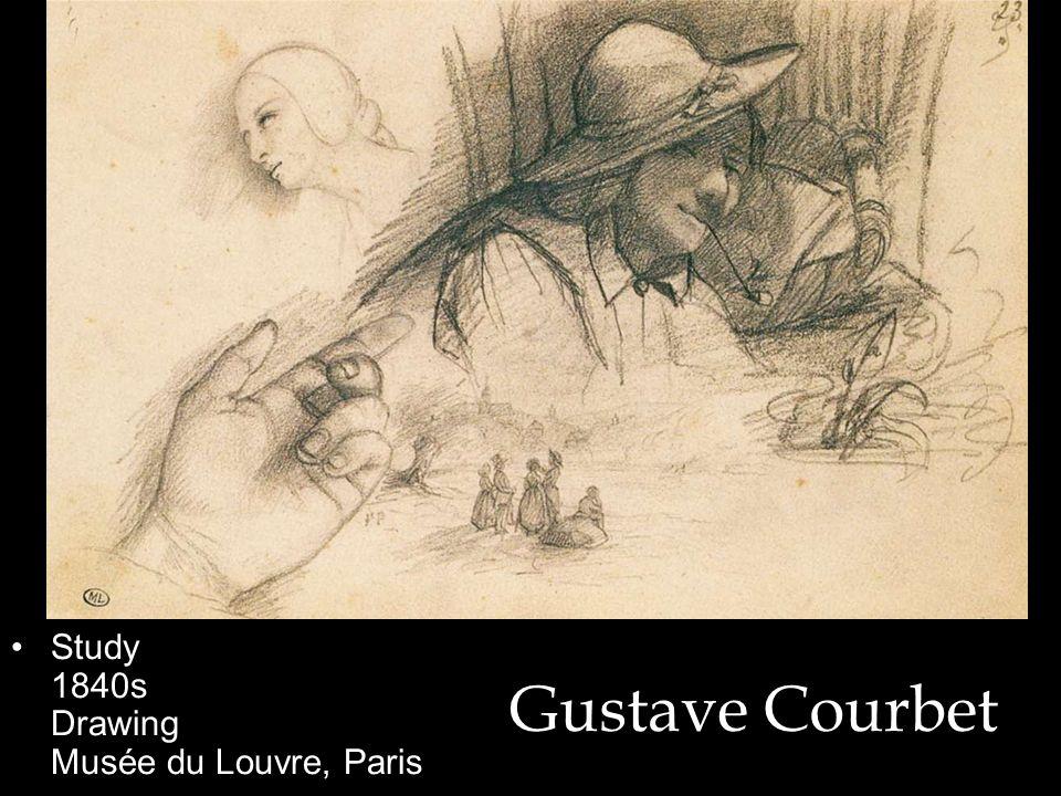 Study 1840s Drawing Musée du Louvre, Paris