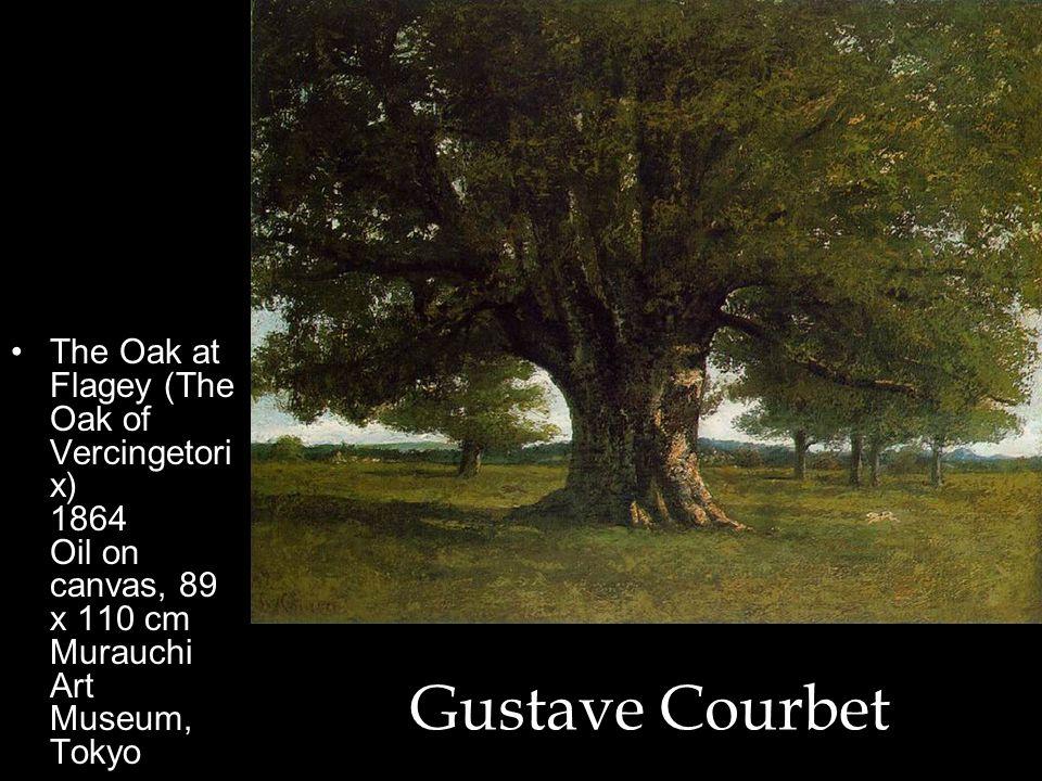 The Oak at Flagey (The Oak of Vercingetorix) 1864 Oil on canvas, 89 x 110 cm Murauchi Art Museum, Tokyo