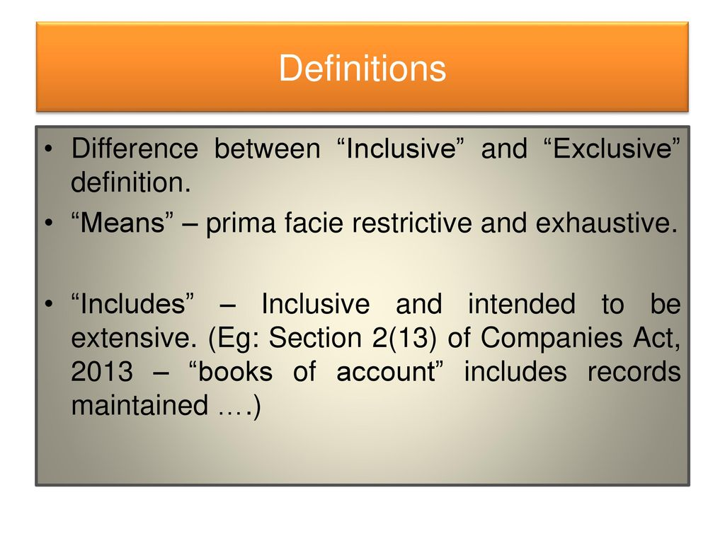 11 Definitions Difference ...