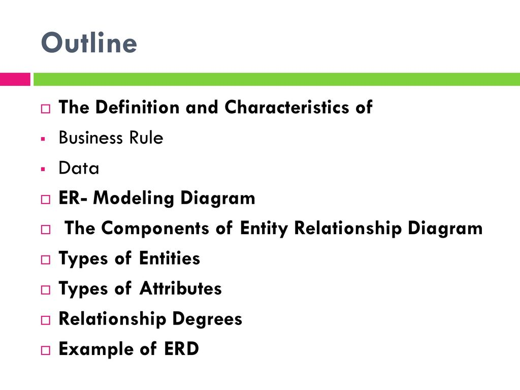 Chapter 3 modeling data in the organization ppt download 2 outline pooptronica Choice Image