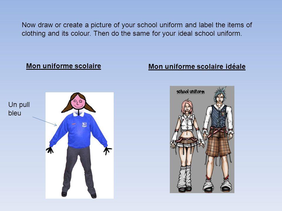 L'Uniforme Scolaire WALT: To talk about school uniform - ppt download