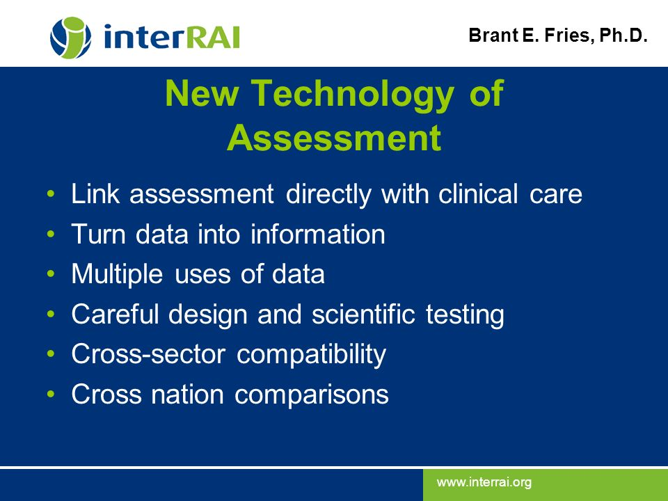 New Technology of Assessment