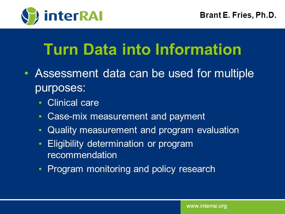Turn Data into Information