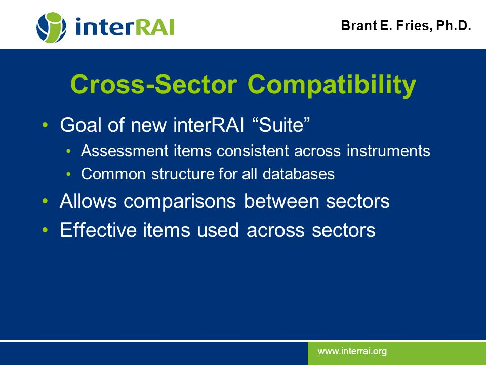 Cross-Sector Compatibility