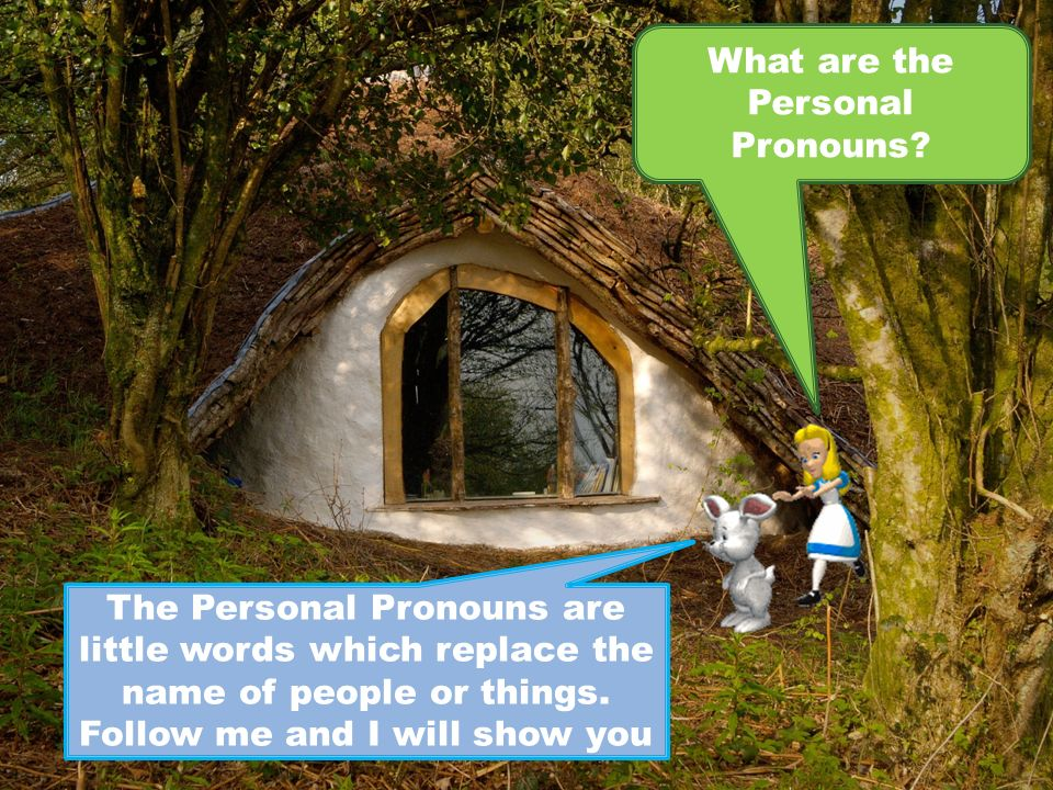 What are the Personal Pronouns