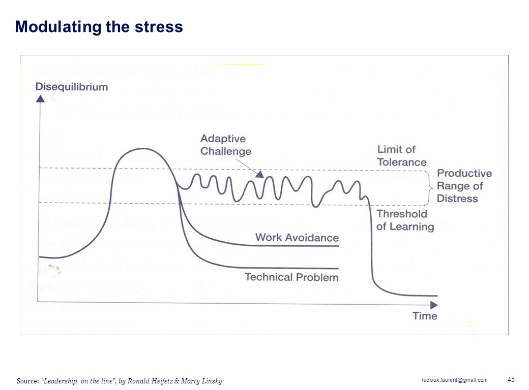 Modulating the stress Need to give example of second bullet