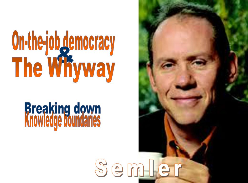 Semler & Breaking down On-the-job democracy The Whyway