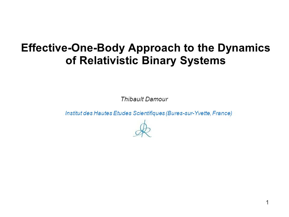 Effective-One-Body Approach to the Dynamics