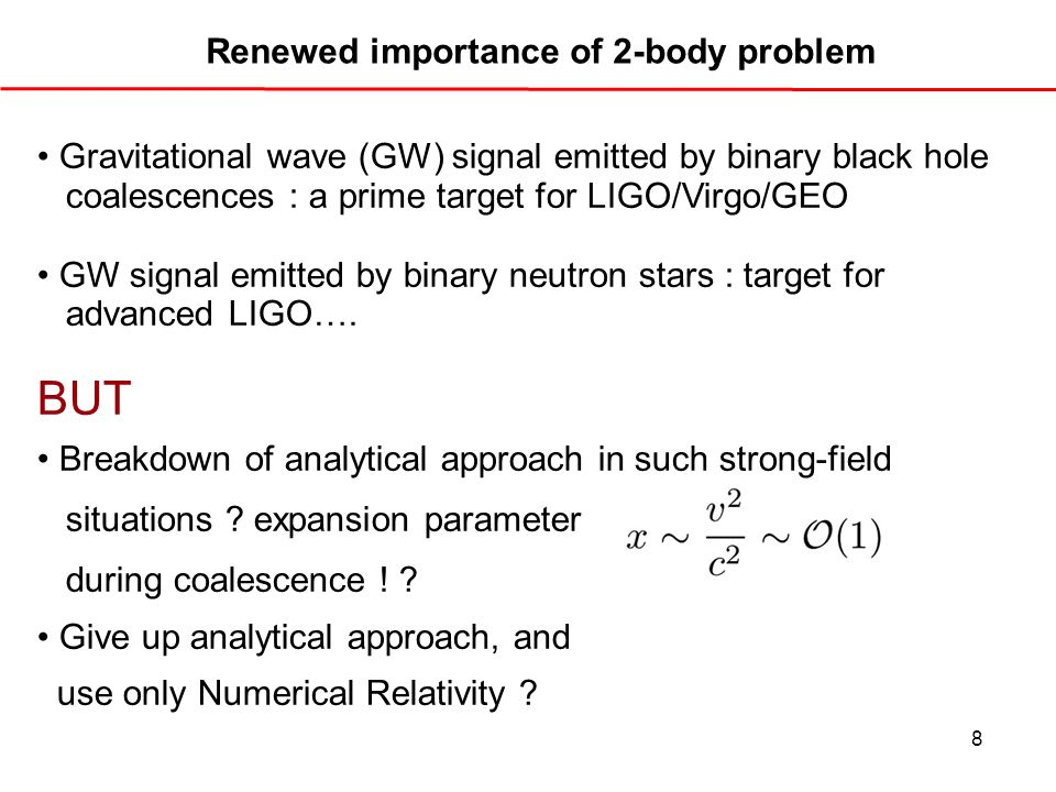 Renewed importance of 2-body problem
