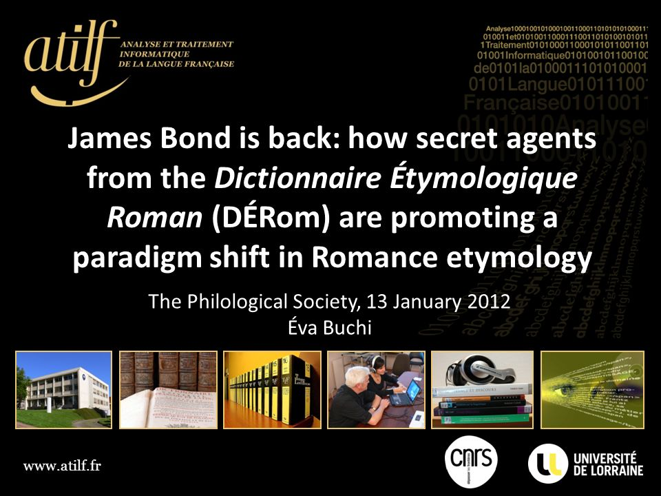 The Philological Society, 13 January 2012