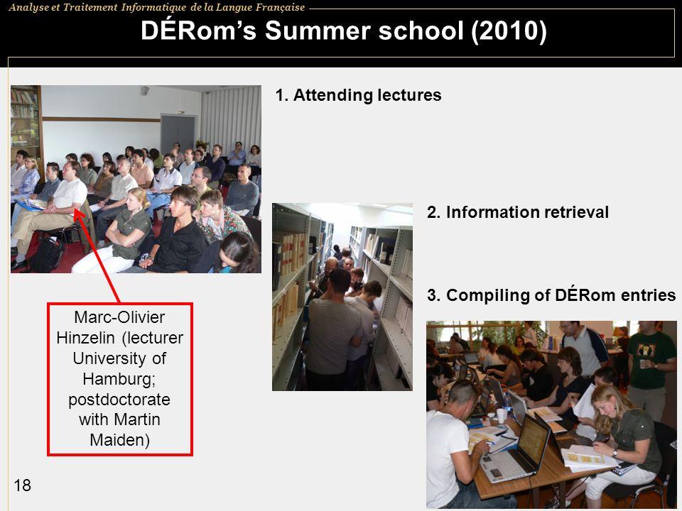 DÉRom's Summer school (2010)