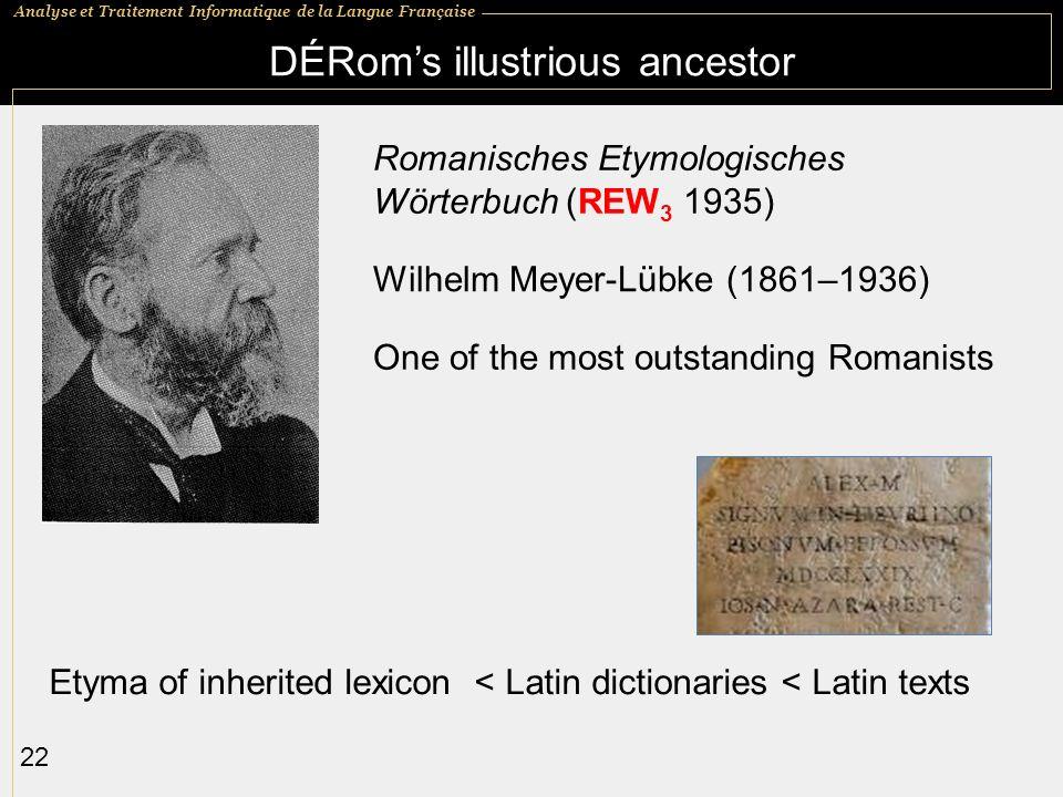 DÉRom's illustrious ancestor