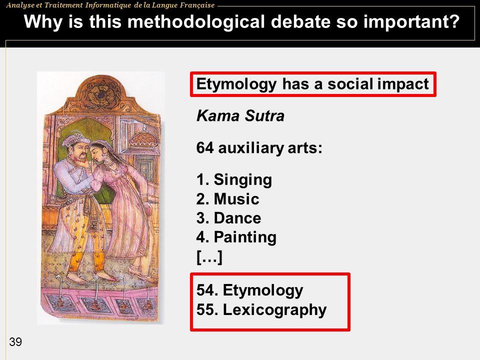 Why is this methodological debate so important