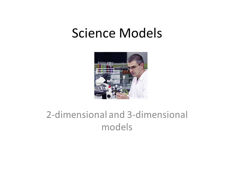 2-dimensional and 3-dimensional models