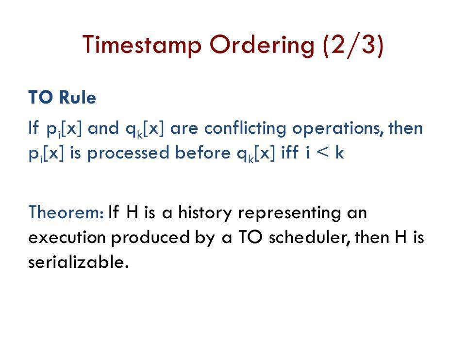 Timestamp Ordering (2/3)