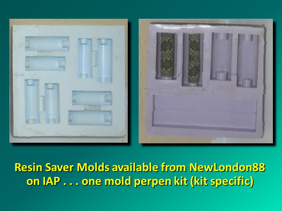 Resin Saver Molds available from NewLondon88