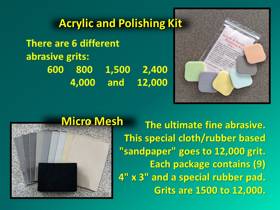 Acrylic and Polishing Kit