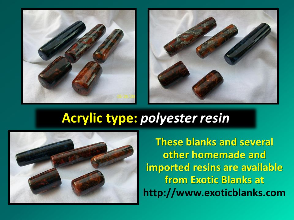 Acrylic type: polyester resin