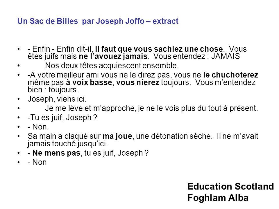 Un Sac de Billes par Joseph Joffo – extract