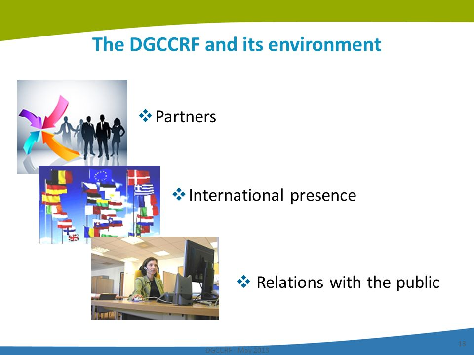 The DGCCRF and its environment