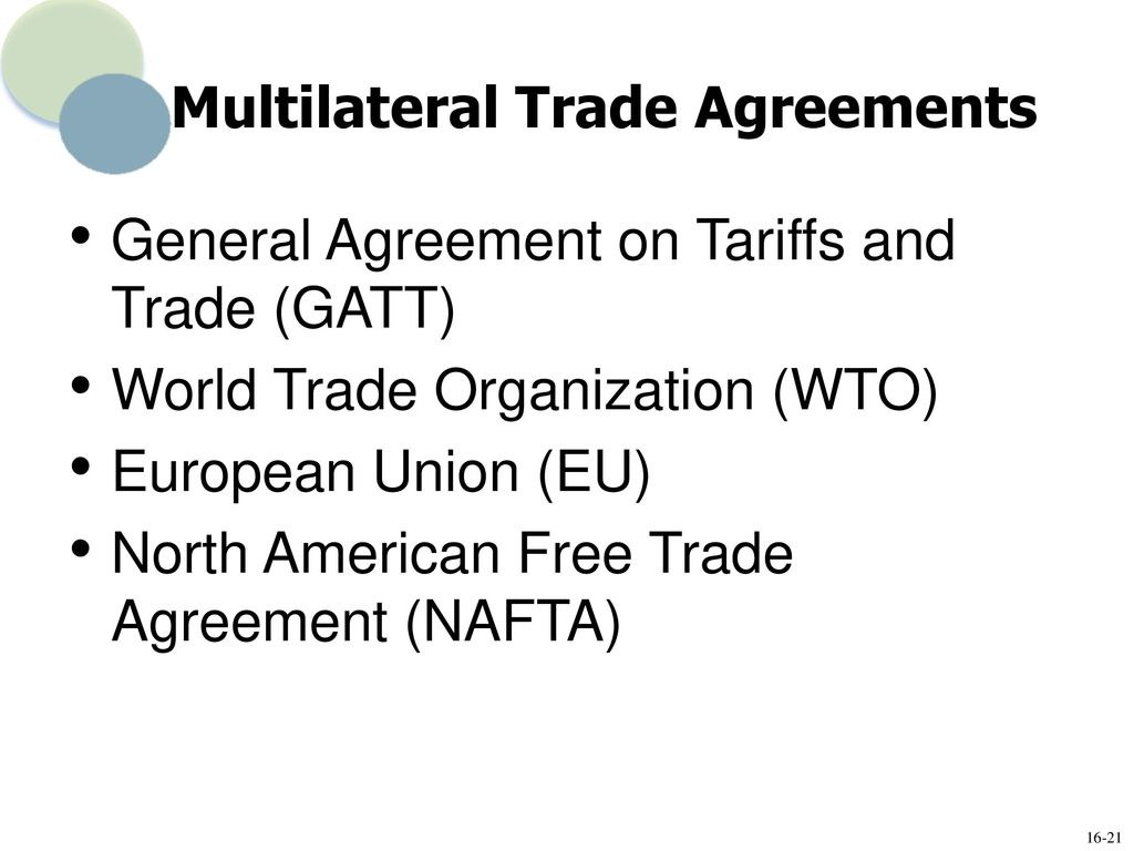 Isilypo Important Multilateral Trade Agreements 62747138 2018