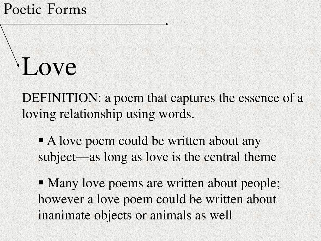 the many definition of love Free example of love definition , sample essay paper.