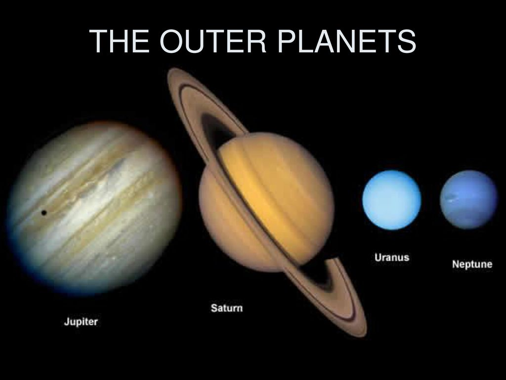THE OUTER PLANETS. - ppt video online download
