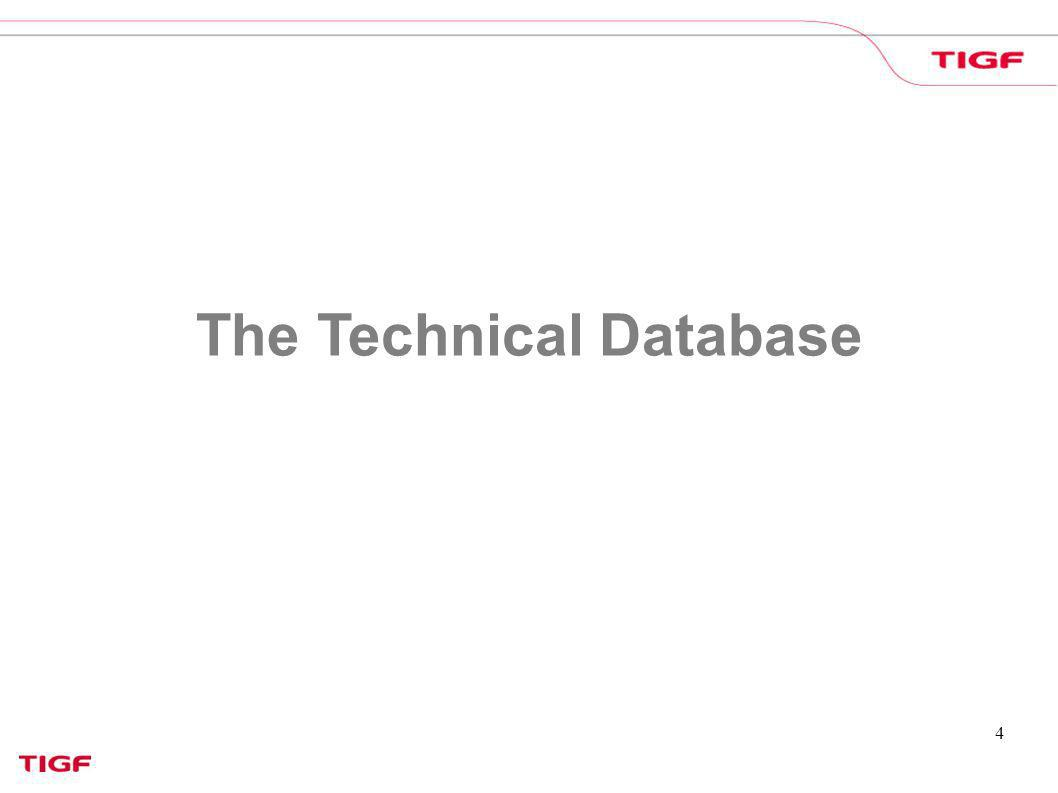 The Technical Database