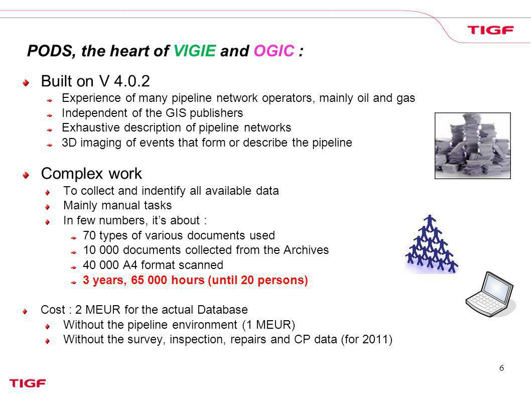 PODS, the heart of VIGIE and OGIC :