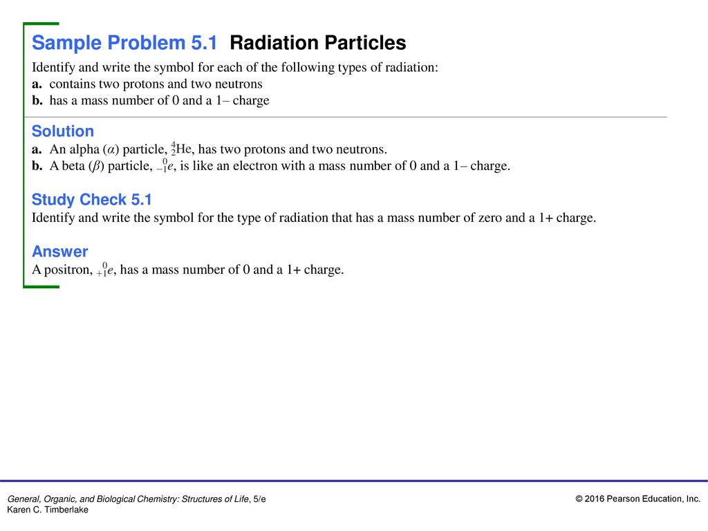 Sample problem 51 radiation particles ppt download sample problem 51 radiation particles biocorpaavc Images