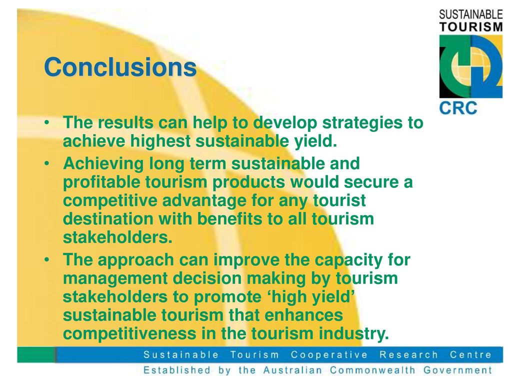 sustainable approach to tourism management Traditionally, heritage tourism planning and management relied on a top-down, professional-led approach that ignores the interests of different stakeholders (eg, heritage tourists) in heritage attractions.