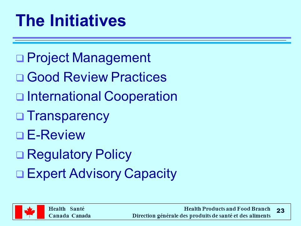 The Initiatives Project Management Good Review Practices