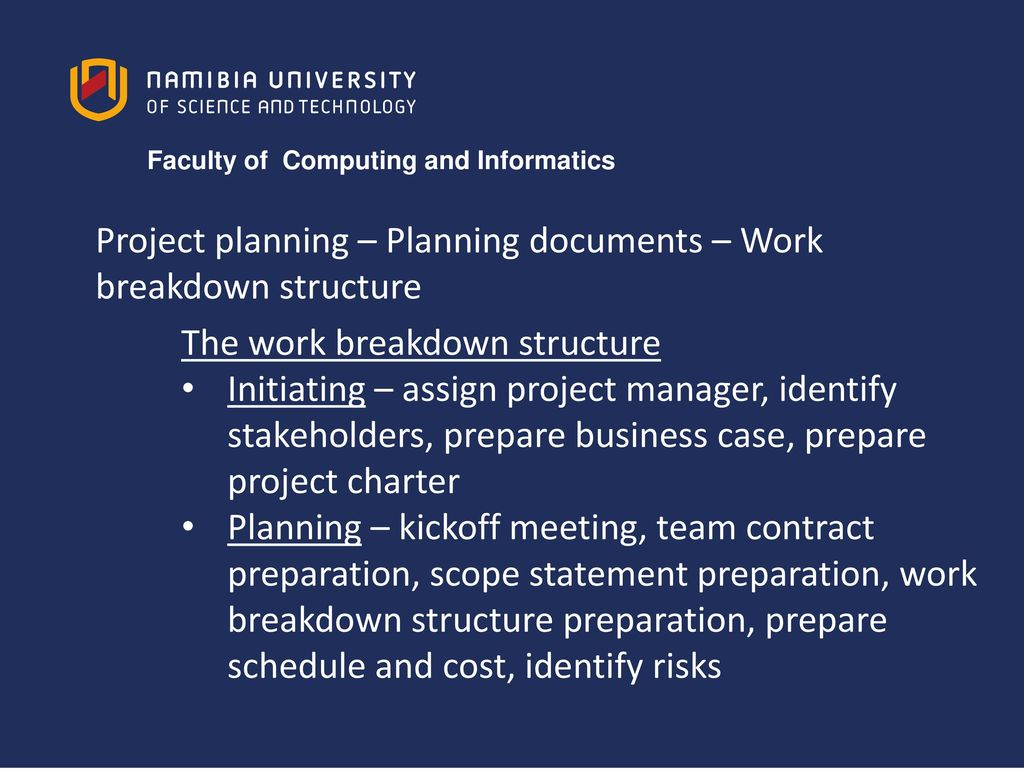 Project Management PTM721S - ppt video online download