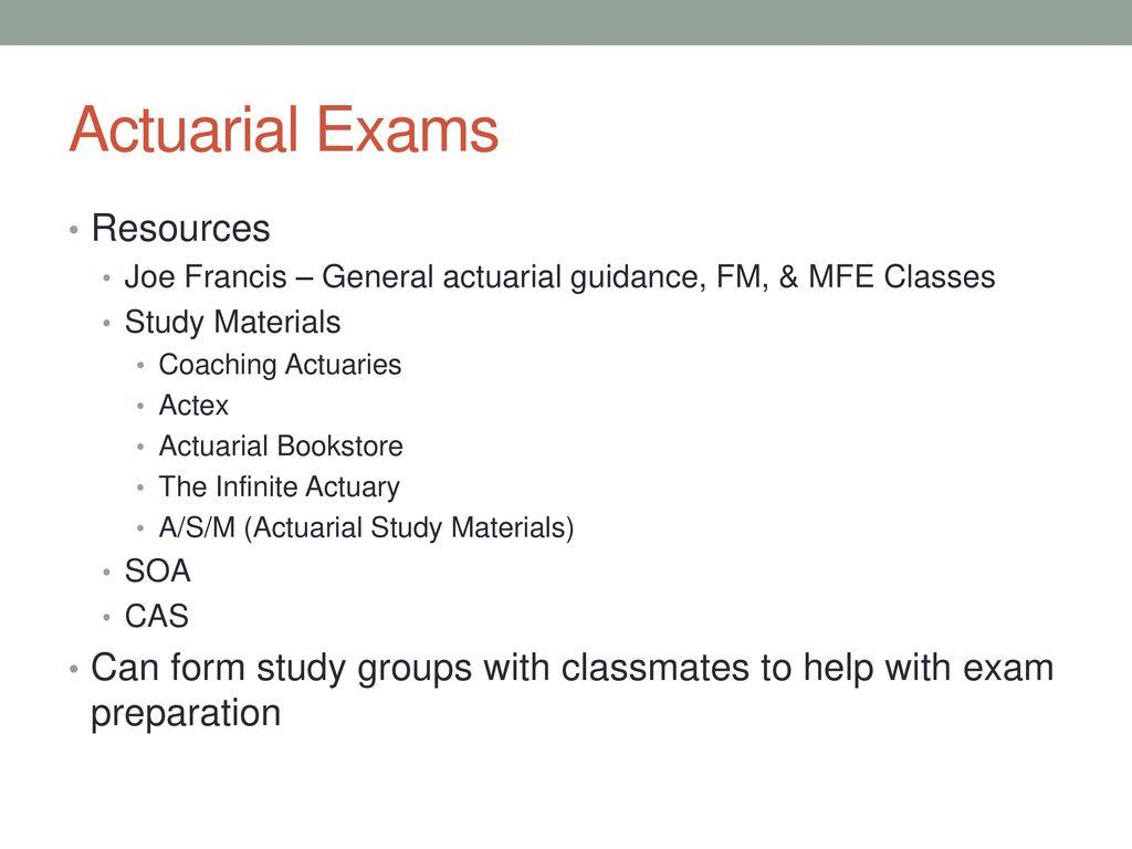 The Actuary's Free Study Guide for Exam 4 / Exam C