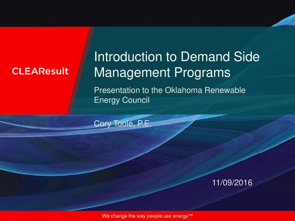 thesis on demand side management Thesis presented in partial fulfilment of the requirements for the degree of master  of philosophy in  efficiency demand side management programme.
