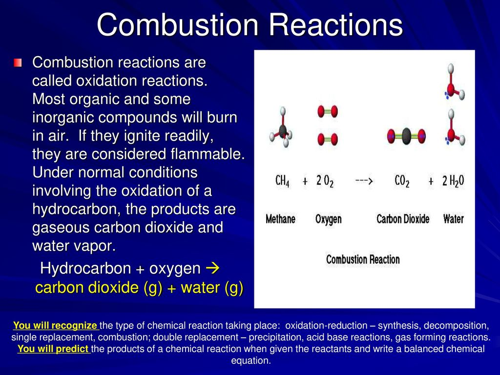 Chapter 11: Chemical Reactions - ppt download