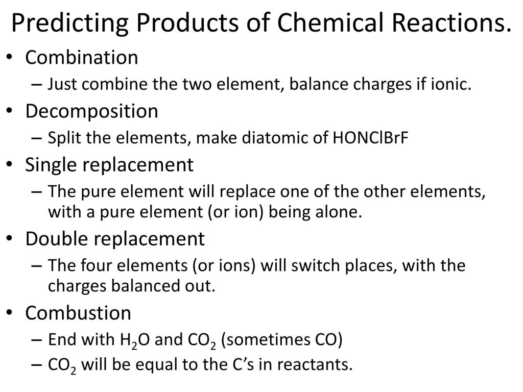 chemical reactions unit 11 chapter 11 ppt video online download. Black Bedroom Furniture Sets. Home Design Ideas
