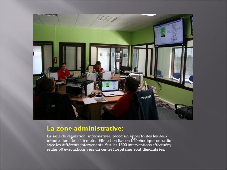 La zone administrative: