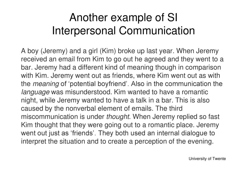 Symbolic interactionism ppt video online download another example of si interpersonal communication biocorpaavc
