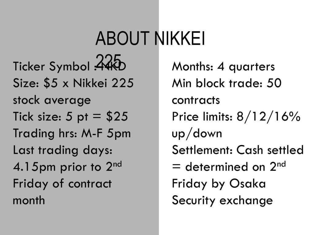 Future trading strategies ppt
