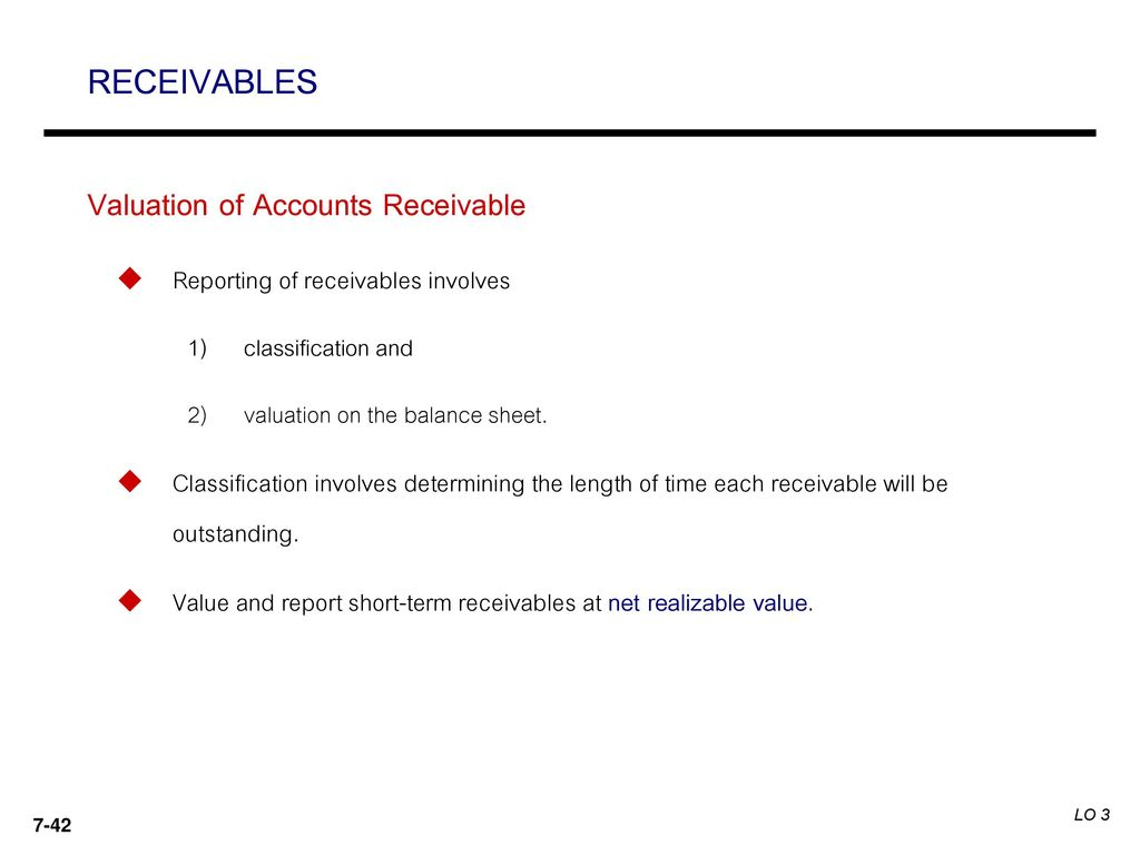 determining the accounting for receivables from Best possible days sales outstanding= (current receivables x number of days in period) / credit sales for period it is important to remember that dso should never be the end-all-be-all of your investigation into accounts receivable performance.