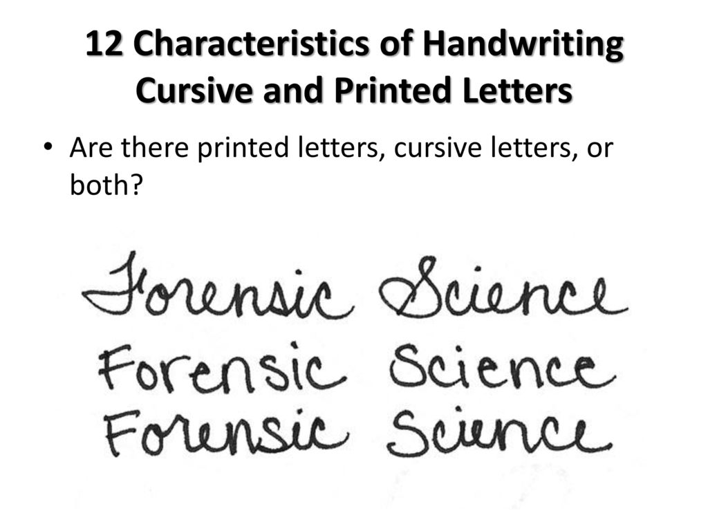 Forensic Handwriting Analysis – Expert Introduction to Handwriting Analysis