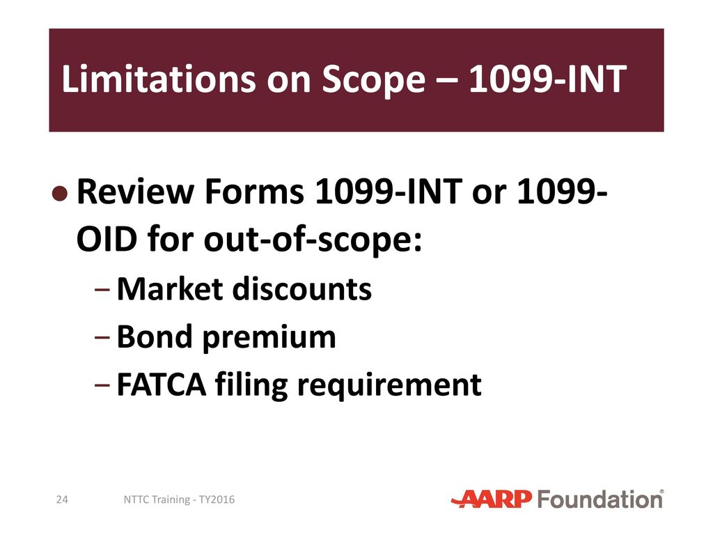Interest and dividend income ppt download limitations on scope 1099 int falaconquin