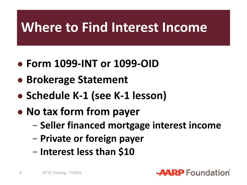 Interest and dividend income ppt download 4 where to find interest income form 1099 int falaconquin