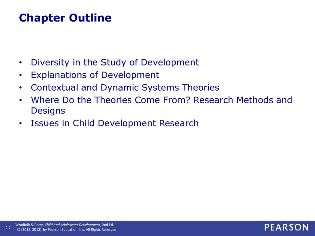 child and adolescent development theories Piaget's (1936) theory of cognitive development explains how a child constructs a  mental  formal operational stage (age 11+ - adolescence and adulthood.