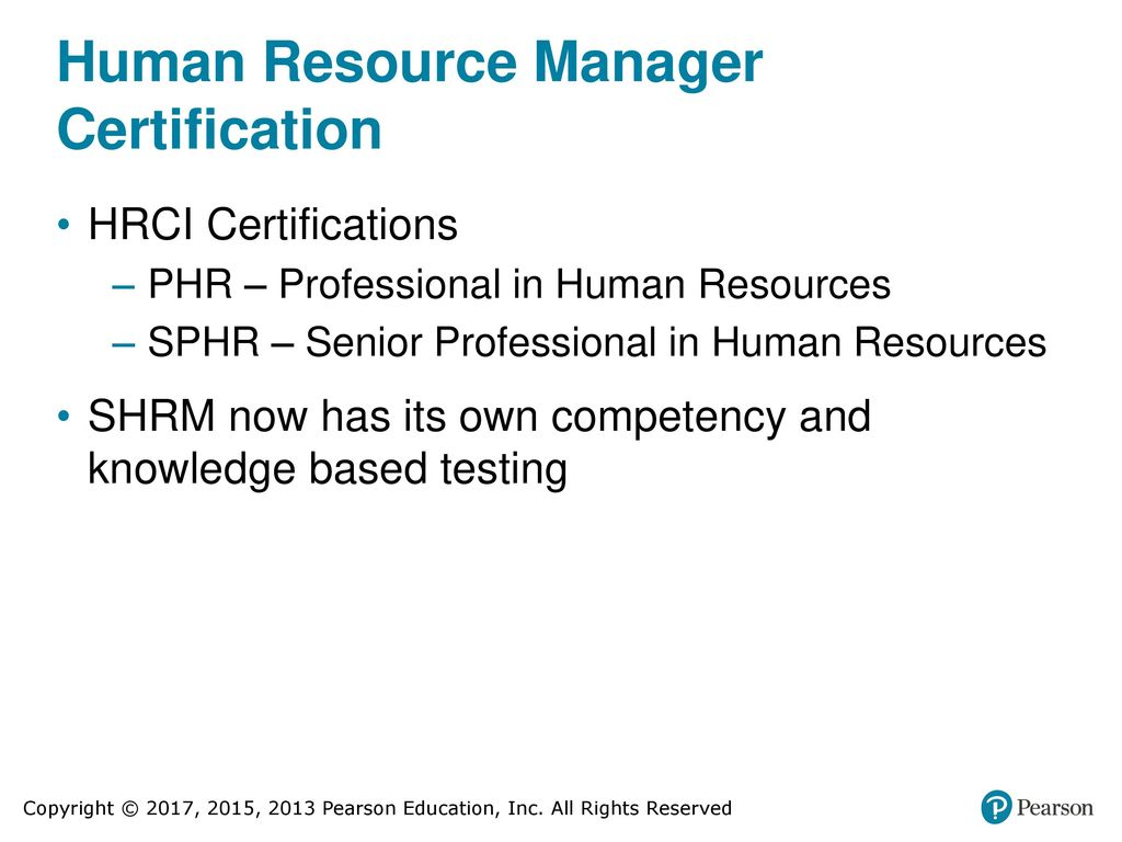 Human resource management ppt download human resource manager certification 1betcityfo Choice Image