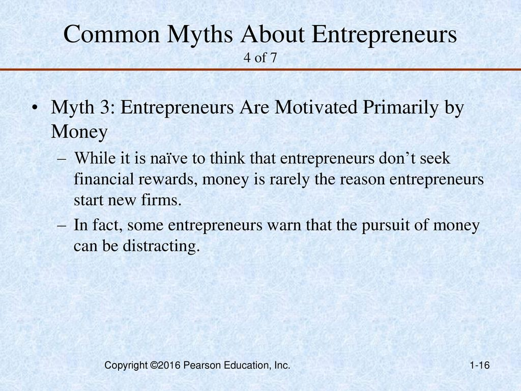 common myths about entrepreneurs The seven most common myths entrepreneurs have about business plans and  how you can set strategic goals to find qualified investors.