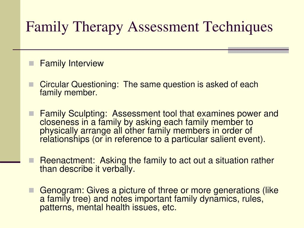 Family therapy a systemic approach ppt download the initial interview pre session planning the therapist and family determine in advance who biocorpaavc