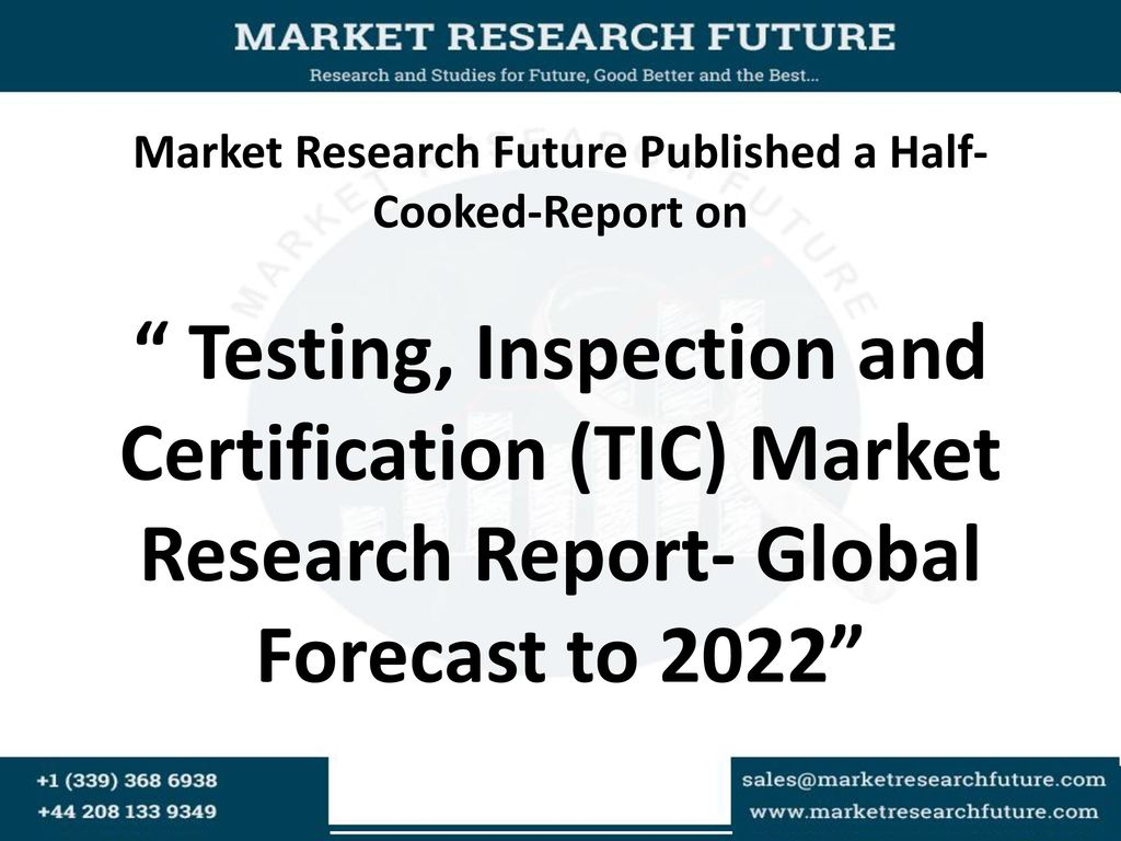 Market research future published a half cooked report on 1 market 1betcityfo Choice Image
